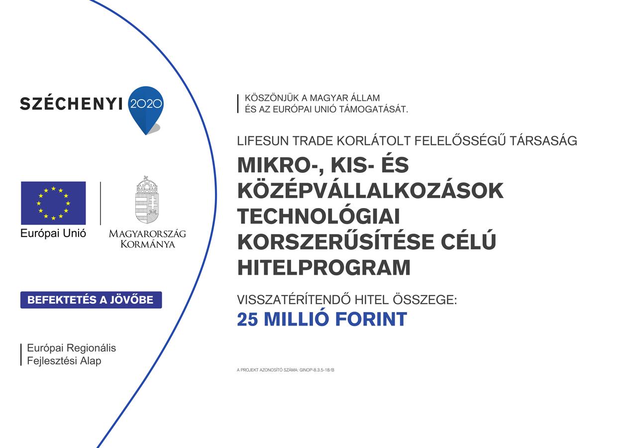 Mikro-, kis- és középvállalkozások technológiai korszerűsítése célú hitelprogram